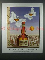 1990 Grand Marnier Liqueur Ad - A Grand View, Indeed