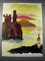 1959 Grant's Scotch Ad - Sheiling of the Misty Island