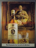 1980 Buchanan Scotch Ad - The Scotch of a Lifetime