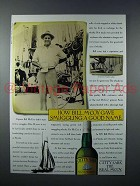 1987 Cutty Sark Scotch Ad - Gave Smuggling Good Name