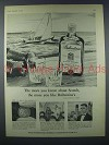 1959 Ballantine's Scotch Advertisement- The More You Know about Scotch