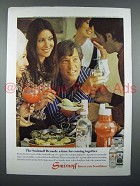 1970 Smirnoff Vodka Ad - A Time for Coming Together