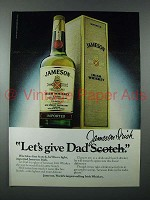 1979 Jameson Irish Whiskey Ad - Let's Give Dad