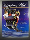 1994 Canadian Club Whisky Ad - Christmas Club