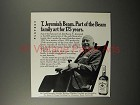 1970 Jim Beam Whiskey Ad - T. Jeremiah Beam