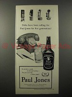 1951 Paul Jones Whiskey Ad - Been Calling For