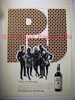 1970 Paul Jones Whiskey Ad - Toss in the Drink Tonight