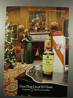 1973 Seagram's V.O. Canadian Whisky Ad - Great Taste