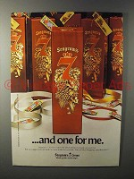 1980 Seagram's 7 Crown Whiskey Ad - One for Me