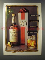 1990 Seagram's V.O. Canadian Whisky Ad - No Assembly