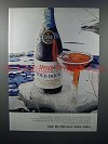 1971 Taylor Cold Duck Sparkling Burgundy Wine Ad