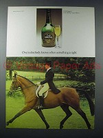 1975 Croft Original Sherry Ad - Instinctively Knows