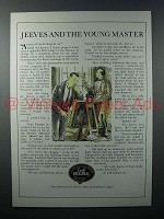 1979 Croft Original Sherry Ad - Jeeves Young Master