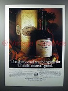 1980 Domecq Celebration Cream Sherry Ad - Chances