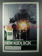 1986 Kool Cigarette Ad - Come Up To New Kool Box