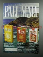 1977 Pall Mall Gold 100's, Red, Extra Mild Cigarette Ad
