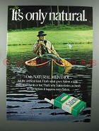 1971 Salem Cigarette Ad - It's Only Natural
