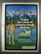 1979 Salem Cigarettes Ad - Taste of Country Fresh