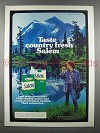 1980 Salem Cigarette Ad - Taste Country Fresh
