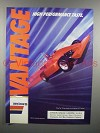 1988 Vantage Cigarette Ad - High Performance