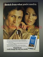 1973 Dutch Masters Dutch Treats Cigar Ad - Switch