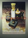 1973 John Player Special Cigarette Ad - Georges Weil