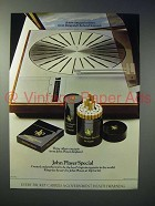 1973 John Player Special Cigarette Ad - Bang & Olufsen