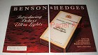 1982 Benson & Hedges Deluxe Ultra Lights Cigarette Ad