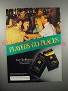 1984 Players Cigarette Ad - Players Go Places