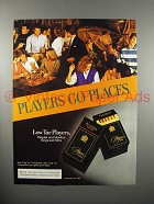 1984 Players Cigarette Ad - Go Places