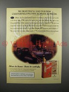 1993 Chesterfield Cigarette Ad - We Hope You'll Like