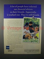 1996 American Express Financial Advisors Ad - It Worked