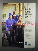 1998 American Express Financial Advisors Ad - Security