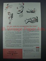 1957 Metropolitan Life Insurance Ad - For Emergencies