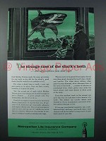 1958 Metropolitan Life Insurance Ad - Shark's Teeth