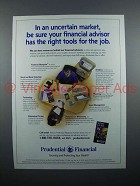 2001 Prudential Insurance Ad - The Right Tools