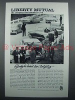 1961 Liberty Mutual Insurance Ad - Been Tailgating