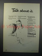 1980 Midland Bank Ad - Talk About It