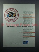 2000 VISA Buxx Credit Card Ad - Not Birds and Bees