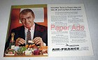 1960 Air France Ad - Jimmy Stewart