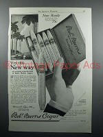1921 Robt. Burns Invincible Cigar Ad - Try This Way