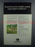 1967 Eastern Air Lines Ad - One Vacation a Year