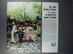 1962 JAL Air Lines Ad - The Calm Beauty of Japan