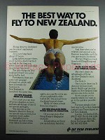 1978 Air New Zealand Ad - The Best Way to Fly
