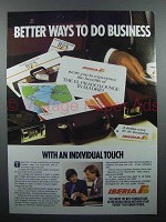 1986 Iberia Airlines Advertisement - Better Ways to Do Business
