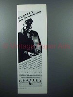 1928 Graflex Camera Ad - Gets the Whole Story