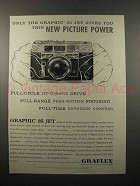 1961 Graflex Graphic 35 JET Camera Ad - Picture Power