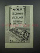 1913 Nabisco Sugar Wafers Ad