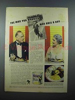 1937 Green Giant Niblets Corn Ad - Man You Married