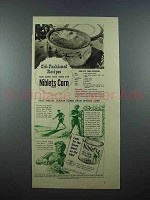 1939 Green Giant Niblets Corn Ad - Old-Fashioned
